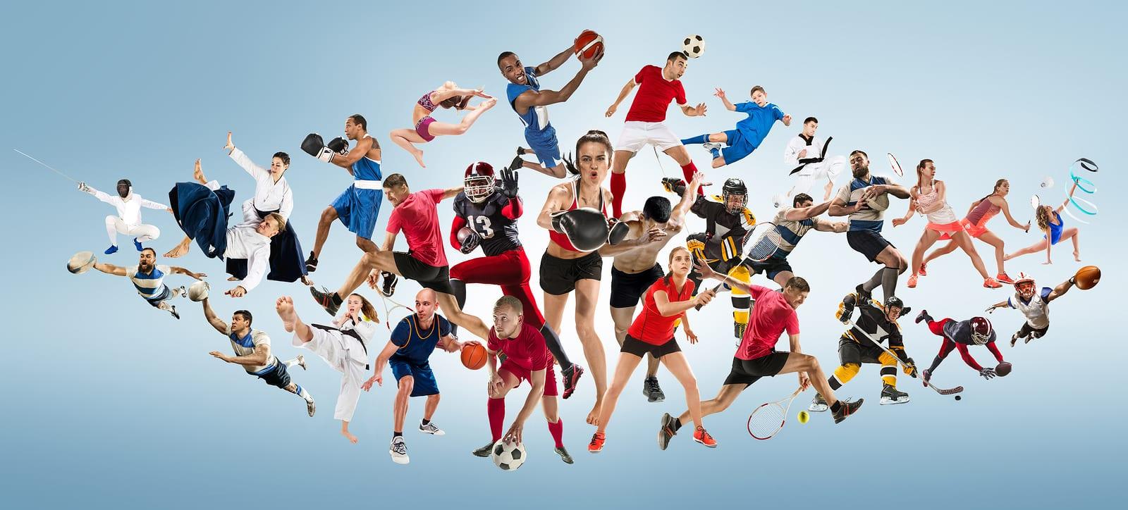 Городская Акция фотоколлажей «Эмоции спорта», посвященная международному Дню спорта
