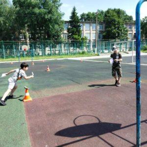 В рамках летней оздоровительной кампании специалистами Центра были проведены соревновательные старты «Лабиринт» на базе МБОУ «Школы 93»